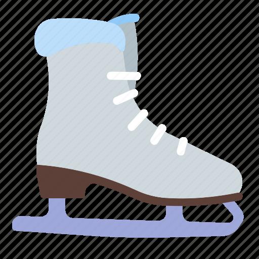 figure, ice, skating, sport icon