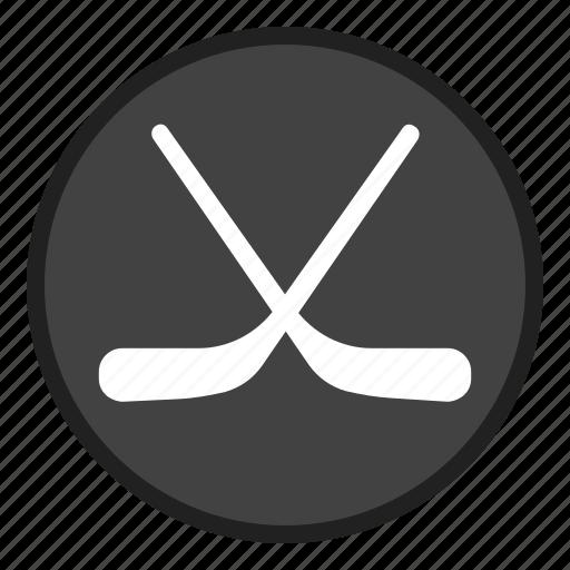 game, hockey, sport, sports, stick icon