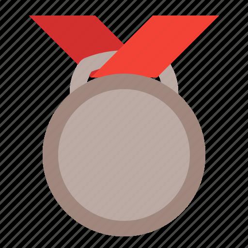 award, bronze, medal, prize, sport icon