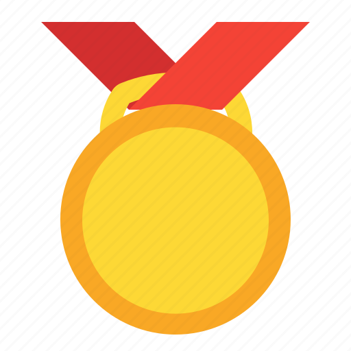 award, badge, gold, medal, prize, winner icon