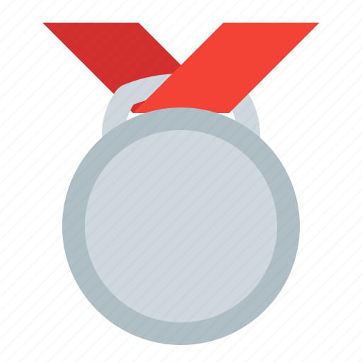 award, medal, prize, silver, sport icon
