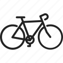bicycle, bike, cycling, race, ride, sport, wheel icon