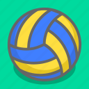 ace, ball, game, sport, sports, volley, volleyball icon