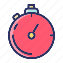 sports, stopwatch, time icon