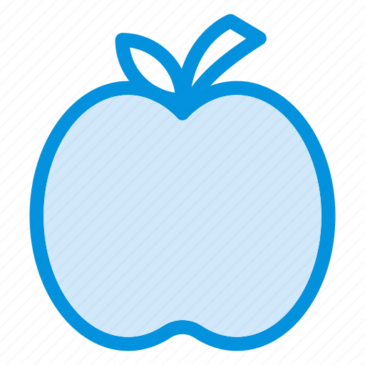 apple, food, fruit, health, logo, mark, natrually icon