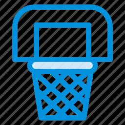 basket, cart, market, shopping, sports, trash, trolley icon