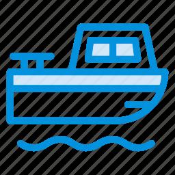 boat, pirate, sea, ship, transport, water, yatch icon