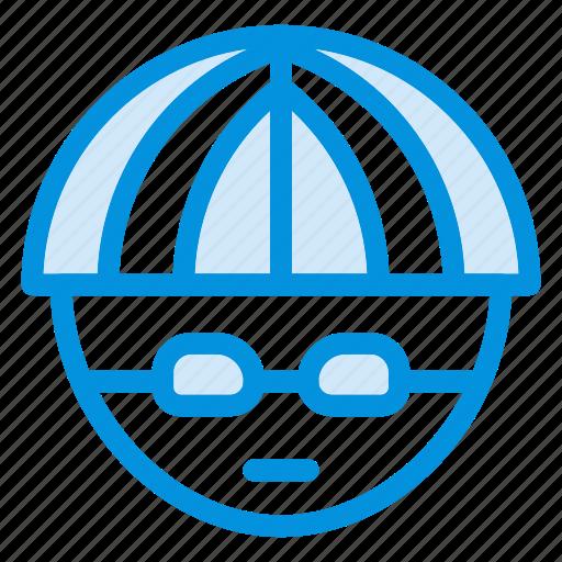 avatar, bicycle, cowboy, driver, man, rider, travel icon