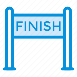 check, checkpoint, done, finish, game, goal, round icon
