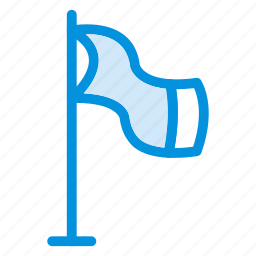country, flag, goal, mark, pin, report, sign icon