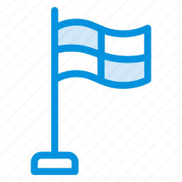 flag, goal, national, pin, report, sign, sport icon