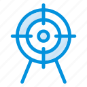 arrow, focus, goal, gps, mission, point, target icon
