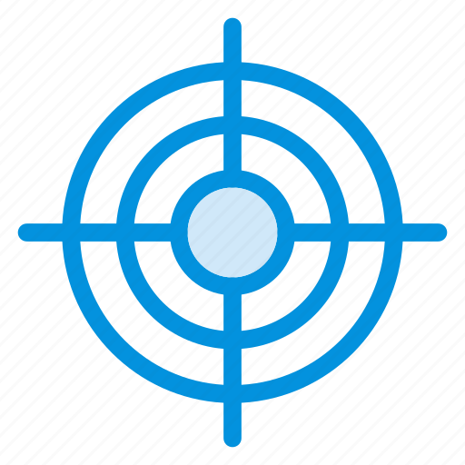 arrow, focus, goal, location, mission, position, target icon