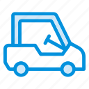 driving, game, golf, sport, transport, van, vehicle icon