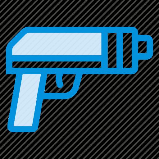 danger, gun, hunting, kill, pistol, shoot, weapon icon