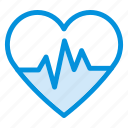 beat, care, health, heart, life, medical, pulse icon