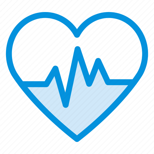 beat, care, health, heart, life, medical, pulse icon
