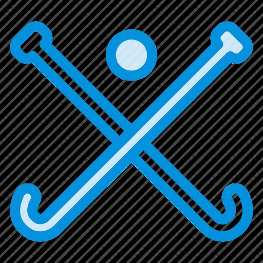 goal, ground, hockey, player, sport, sports, stick icon