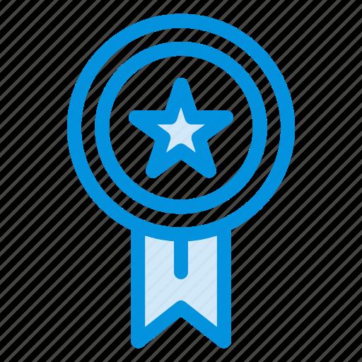 awards, gold, medal, prize, star, trophy, winner icon