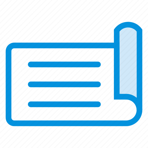 document, file, info, list, note, page, success icon