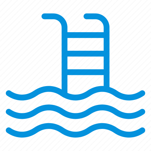 diving, pool, recreation, sea, sports, summer, swimming icon