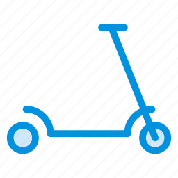 auto, bicycle, cycle, kids, scooty, skating, transport icon