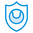 antivirus, ball, firewall, game, safe, security, shield icon