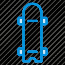 board, fun, funsports, play, skate, skateboard, sport icon