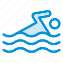 diving, game, pool, sea, sport, swim, water icon