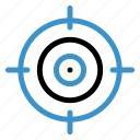 arrow, focus, goal, location, mission, position, target