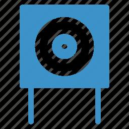 board, boardpin, circle, clipboard, pin, school, whiteboard icon