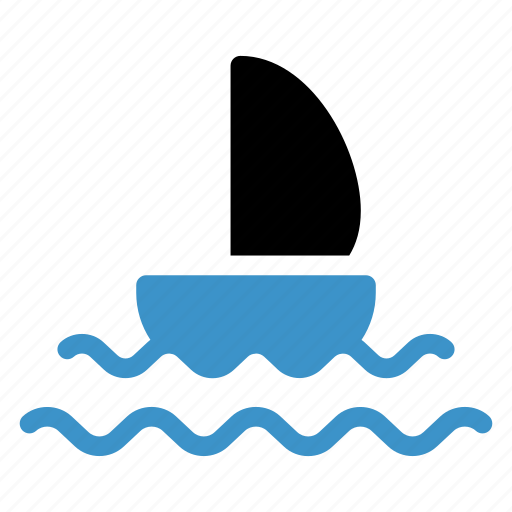 boat, sailing, ship, sport, transport, travel, trip icon