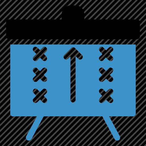 board, box, marks, points, score, sports, winner icon