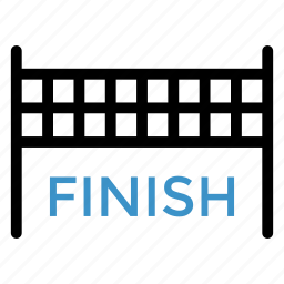 check, done, end, finish, race, sport, win icon