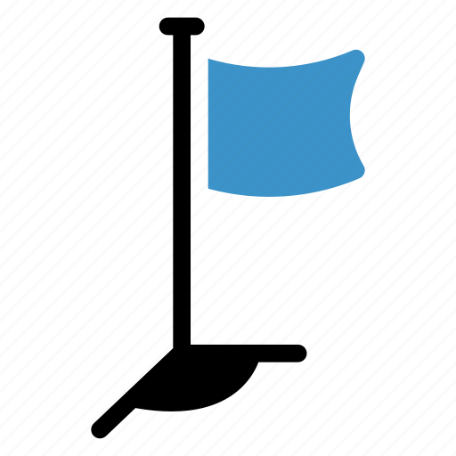 country, flag, goal, golf, pin, report, target icon