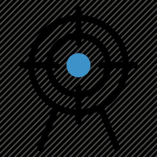 arrow, focus, goal, gps, mission, point, target icon