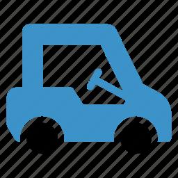 driving, game, golf, sport, transport, van, vehicle icon