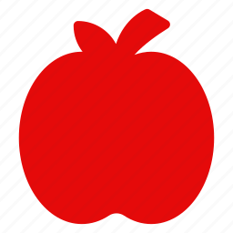 apple, food, fruit, health, logo, mark, natrually icon
