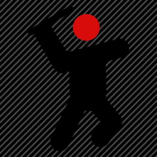 avatar, boy, enjoy, fun, man, ninja, playing icon