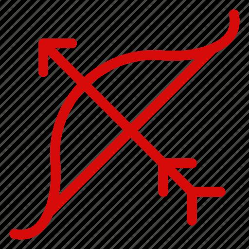 archery, arrow, focus, goal, mission, position, target icon