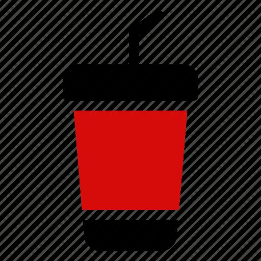 drink, glass, juice, milk, orange, shake, water icon