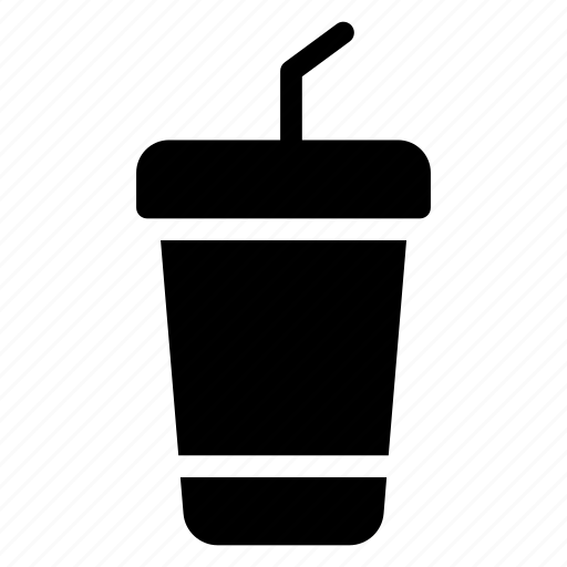 drink, glass, juice, milk, orange, shake, water icon