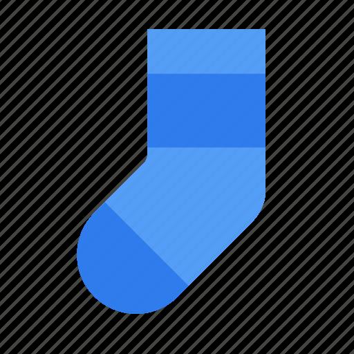 christmas, footwear, sock, socks, sport, sports, winter icon