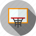 ball, basketball, goal, hoop, match, sports icon