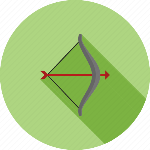 aiming, archer, archery, arrow, bow, shoot, target icon