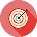 archery, arrow, bulls eye, dartboard, darts, shoot, target icon