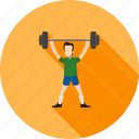 dumbbells, exercise, gym, heavy, weight, weightlifter, workout