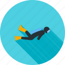 diver, diving, scuba, scuba diver, sports, underwater, water icon