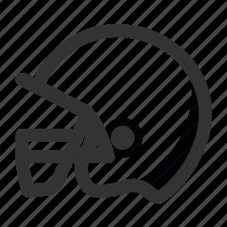 american football, game, helmet, nfl, play, sports icon