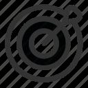 bullseye, dart, dartboard, darts, focus, game, target icon